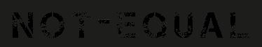 not-equal-logo-68
